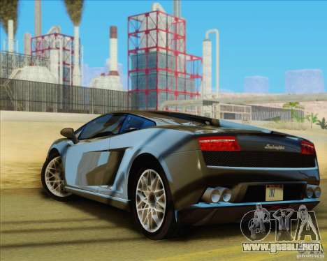 Lamborghini Gallardo LP560-4 para GTA San Andreas left