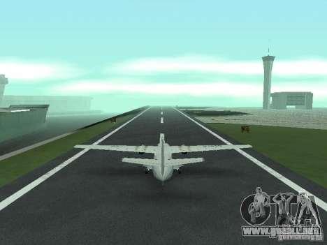 Let L-410 para GTA San Andreas vista posterior izquierda