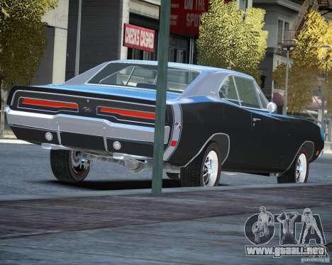 Dodge Charger RT Stock [EPM] para GTA 4 visión correcta