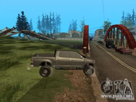 Toyota Tacoma 2011 para la visión correcta GTA San Andreas