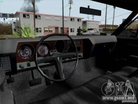 BETOASS car para GTA San Andreas vista hacia atrás