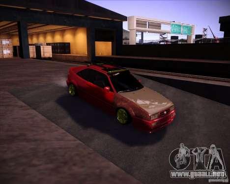 Volkswagen Corrado Rathella para GTA San Andreas vista hacia atrás