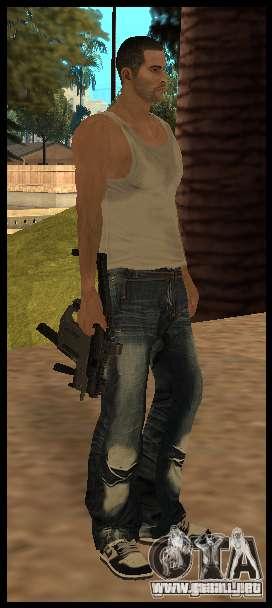 [Point Blank] KRISS SUPER V [Black] para GTA San Andreas segunda pantalla