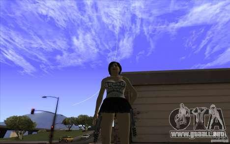 Kaileena big fan para GTA San Andreas segunda pantalla