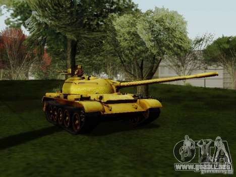 Type 59 GOLD Skin para GTA San Andreas