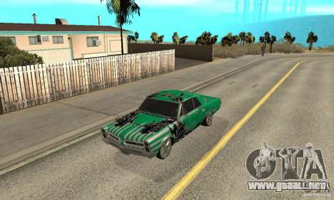 Pontiac GTO 1965 Speed King-NFS Pro Street para GTA San Andreas
