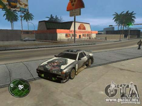 Fantasma vynyl para Elegy para GTA San Andreas