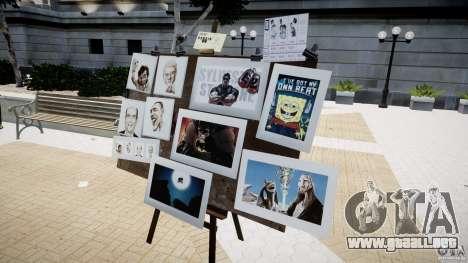 New Paint Artist para GTA 4 adelante de pantalla