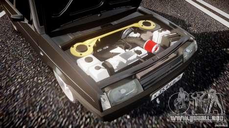 Lada VAZ 2109 para GTA 4 vista desde abajo
