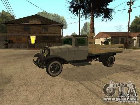 FORD AA para GTA San Andreas left