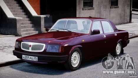 GAZ 3110 Volga para GTA 4