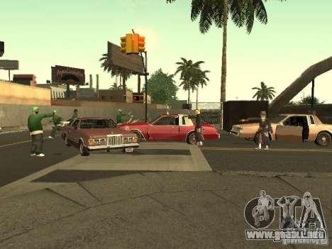 The Akatsuki gang para GTA San Andreas séptima pantalla