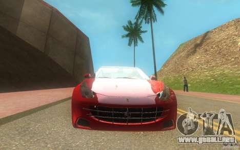 Ferrari FF para la visión correcta GTA San Andreas