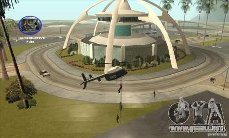 Police Maverick 2 para la visión correcta GTA San Andreas