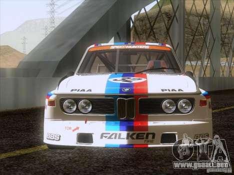 BMW CSL GR4 para la visión correcta GTA San Andreas