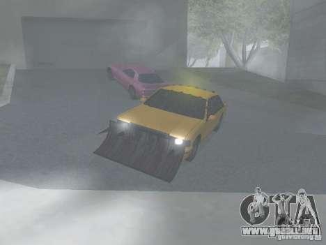 Zombie Taxi para GTA San Andreas left