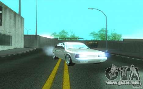 Coche AZLK 2141 Tuning para GTA San Andreas vista posterior izquierda