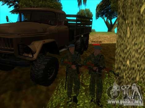 Las tropas AEROTRANSPORTADAS. para GTA San Andreas