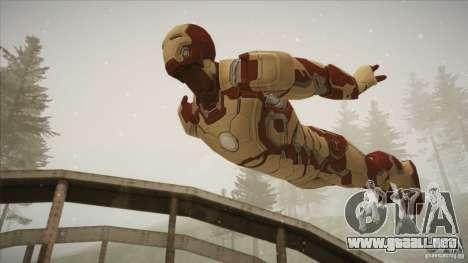 Iron Man Mark 42 para GTA San Andreas tercera pantalla