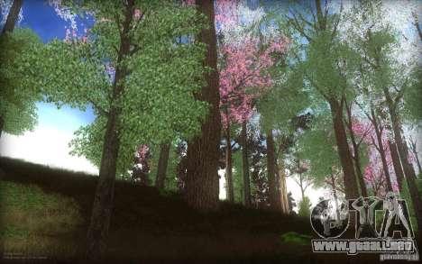 Spring Season para GTA San Andreas segunda pantalla