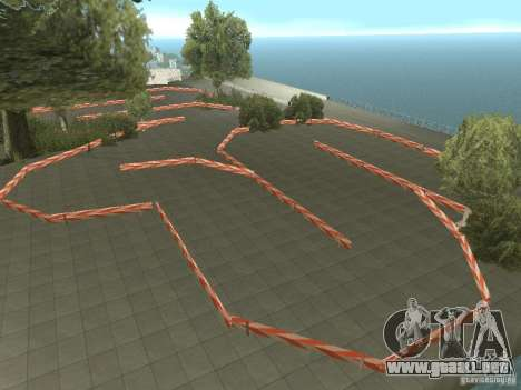 New Drift Track SF para GTA San Andreas segunda pantalla