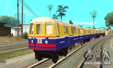 Liberty City Train Italian para GTA San Andreas