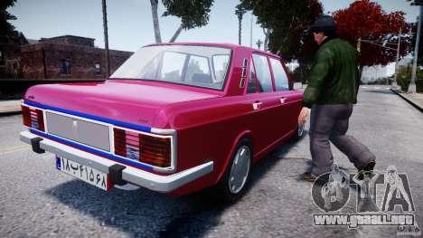 Peykan 1600i para GTA 4