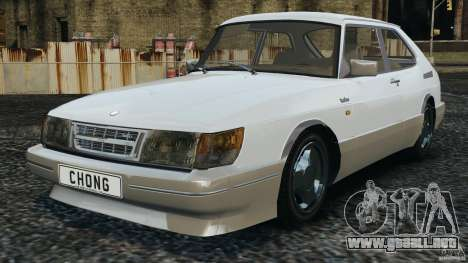 Saab 900 Coupe Turbo para GTA 4