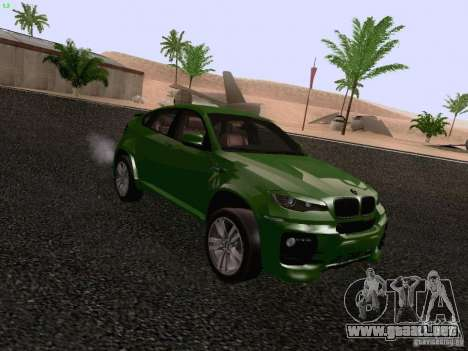 BMW X6 LT para la visión correcta GTA San Andreas