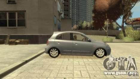 Nissan Micra para GTA 4 visión correcta