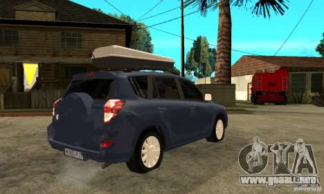 Toyota RAV4 V2 para la visión correcta GTA San Andreas