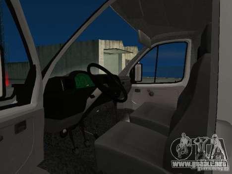 33102 Valday GAZ (largo) para GTA San Andreas left