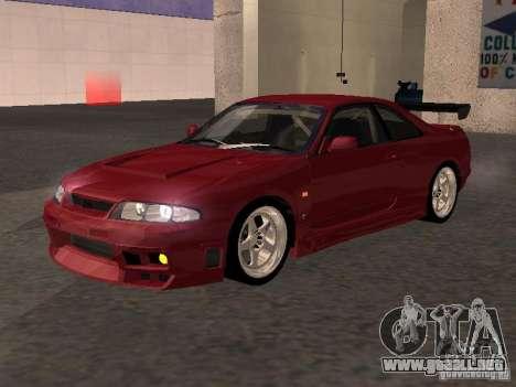 Nissan Skyline GT-R BCNR 33 para GTA San Andreas