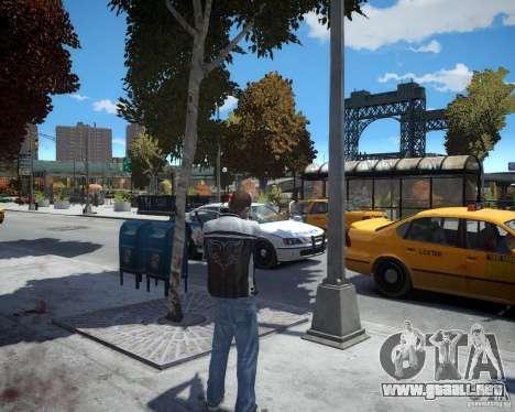 Dead Eye para GTA 4 adelante de pantalla