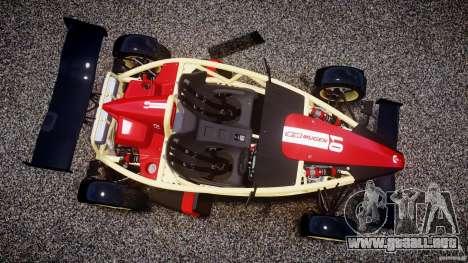 Ariel Atom 3 V8 2012 Custom Mugen para GTA 4 vista hacia atrás