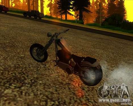 Hexer bike para la vista superior GTA San Andreas