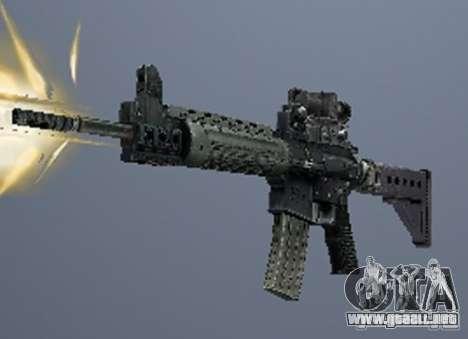 Un conjunto de armas de un acosador para GTA San Andreas sexta pantalla