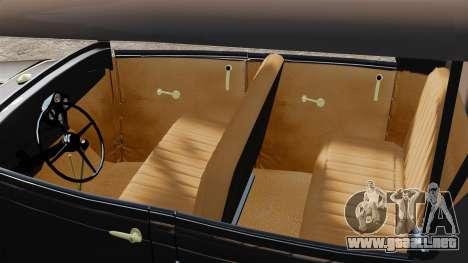 Ford Model T 1924 para GTA 4 visión correcta