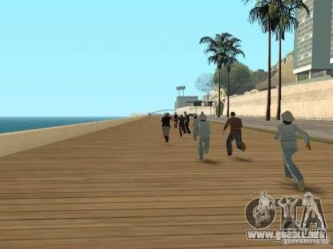 Policías cobardes para GTA San Andreas segunda pantalla