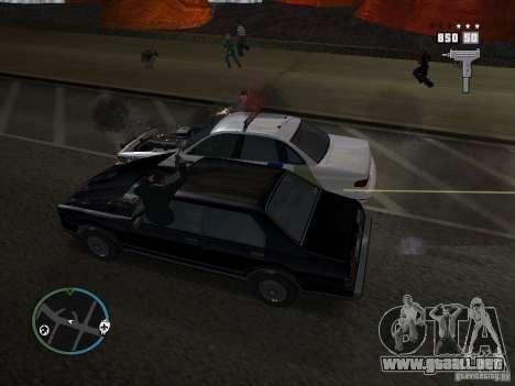 Los súper policías para GTA San Andreas segunda pantalla