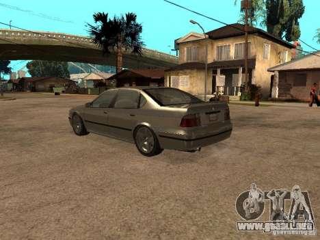 El mérito de Gta 4 para GTA San Andreas vista posterior izquierda