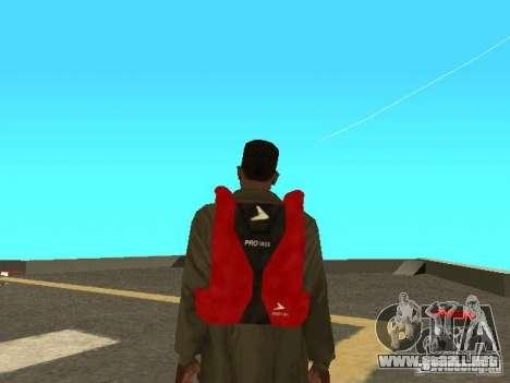 Paracaídas del TBOGT para GTA San Andreas tercera pantalla
