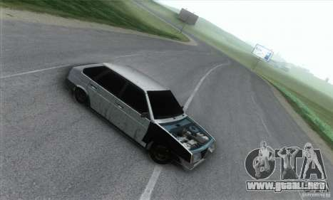 Vaz 2109 Hobo para GTA San Andreas left