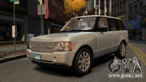 Range Rover Supercharged para GTA 4