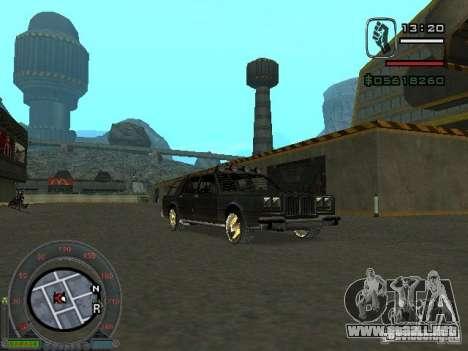 El bosque nuevo para la visión correcta GTA San Andreas