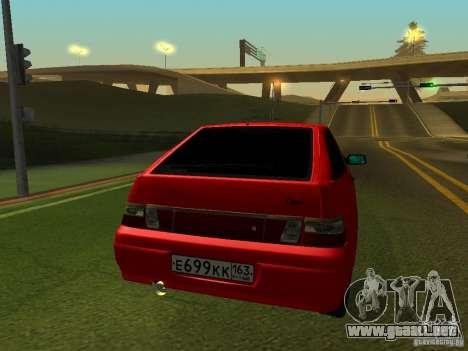 VAZ-2112 para la visión correcta GTA San Andreas