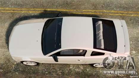 Ford Mustang GT 2005 para GTA 4 visión correcta