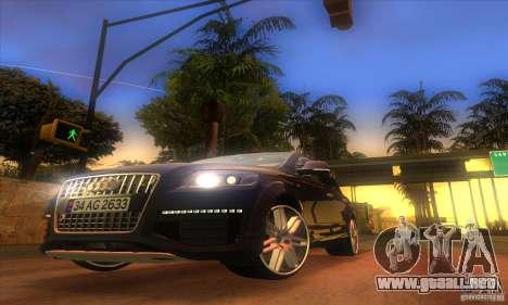 ENB Graphics by KINOman para GTA San Andreas tercera pantalla