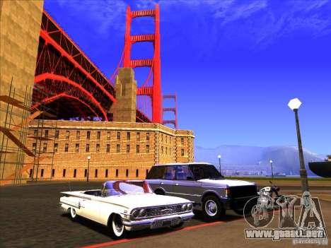 ENBSeries v2.0 para GTA San Andreas octavo de pantalla