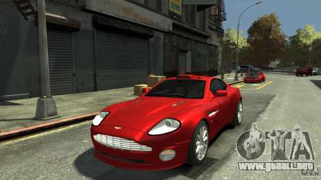 Aston Martin Vanquish S v2.0 teñido para GTA 4